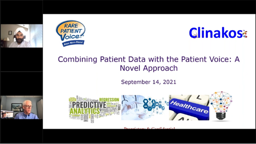 Combining Patient Data with the Patient Voice: A Novel Approach